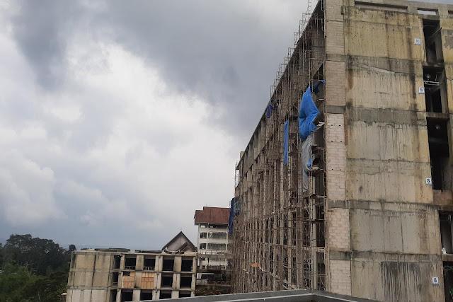 Izin Diduga Bermasalah, Komisi A DPRD Cianjur Sidak Bangunan Hotel Aston Ciloto Puncak