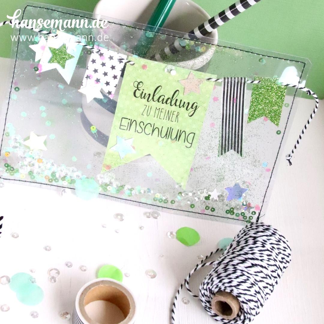 Einladungskarten Zur Einschulung Basteln Made By Immede