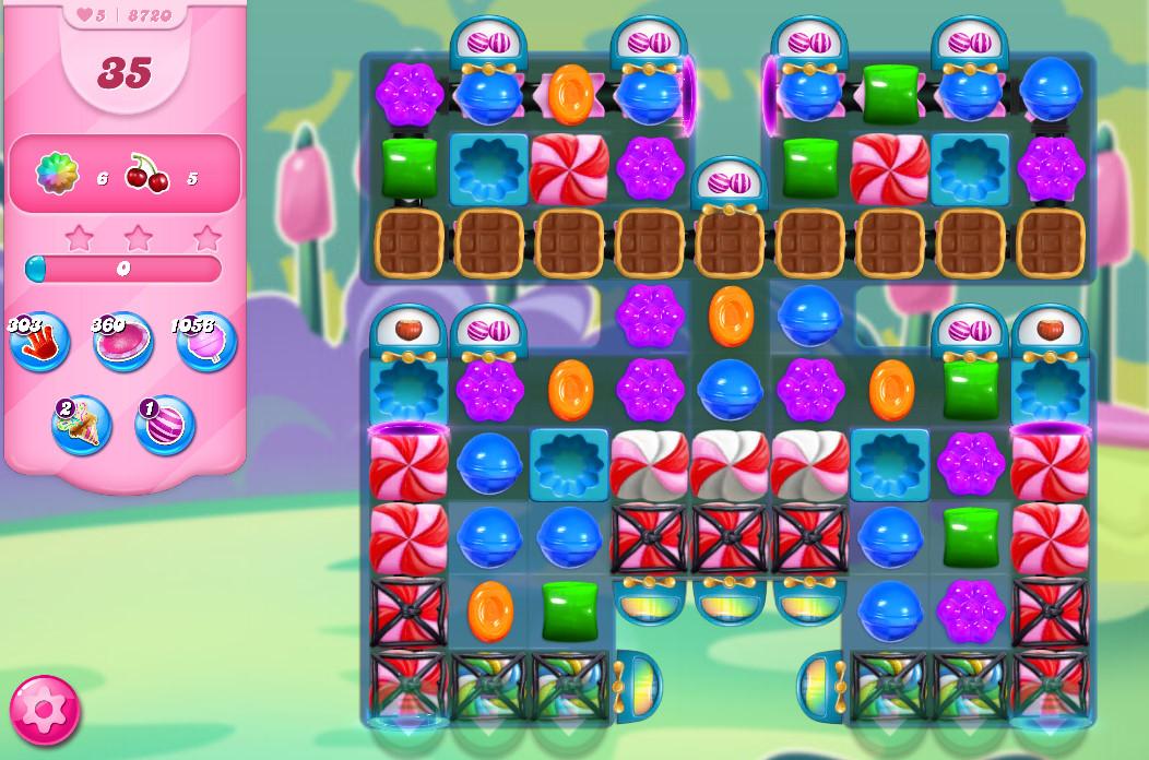 Candy Crush Saga level 8720