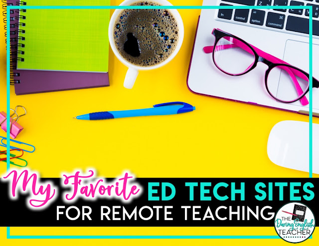 Online Resources for Remote Learning in the Secondary ELA Classroom
