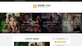 Staar Fashion Blogger Template