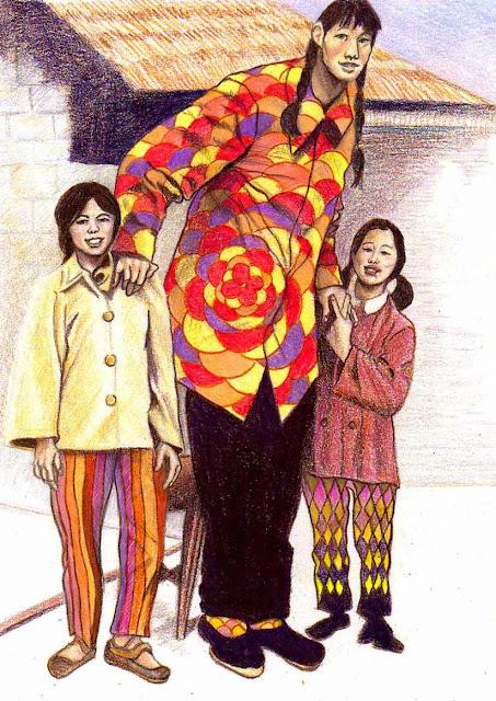 Mulher mais alta do mundo na história