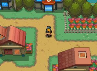 Pokemon Sacred Gold en Español para NDS Ciudad Cerezo
