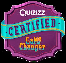 Quizizz Certified Game Changer