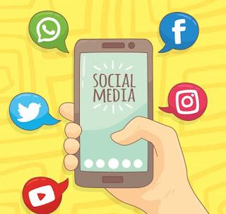 smartphone tablet redes sociales
