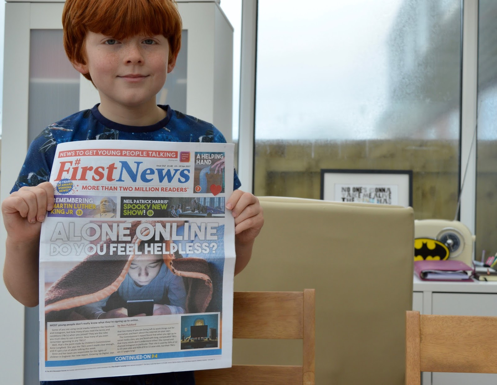 First News Newspaper features and review. A fantastic resource to encourage discussion for children and young people aged 7- 14 years. Plus a special trial offer for our readers.  - front cover