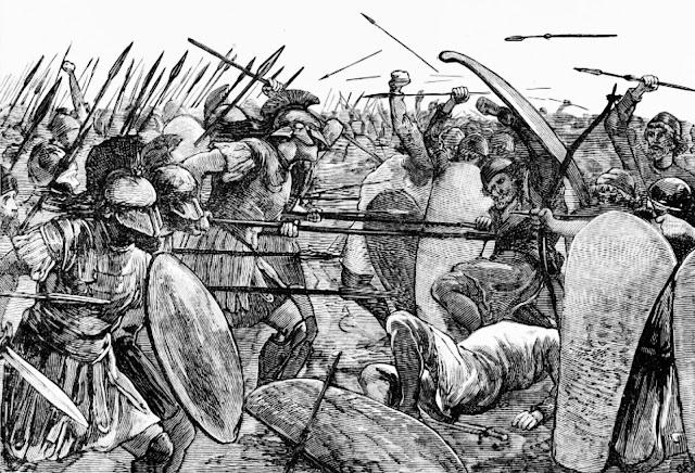 Espartanos en Platea