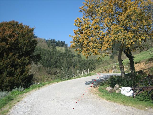 Inicio de Ruta en Recorba