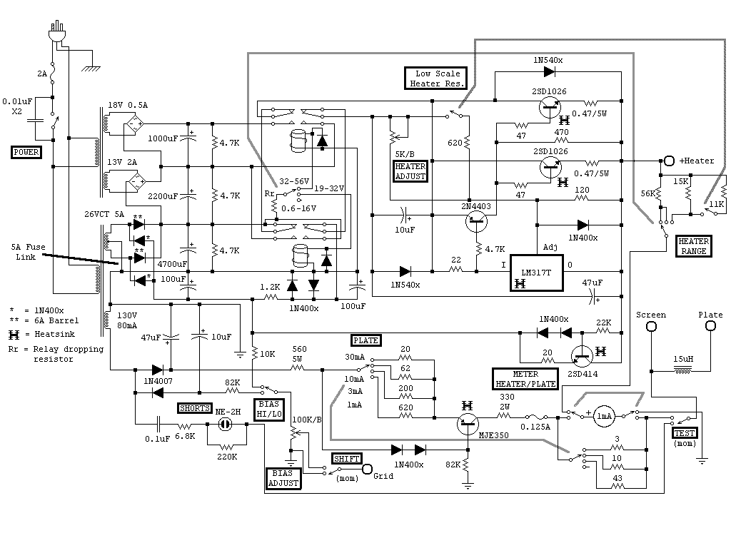 Vu2atn Qro Using 807 Valves Linear Amplifier Schematic
