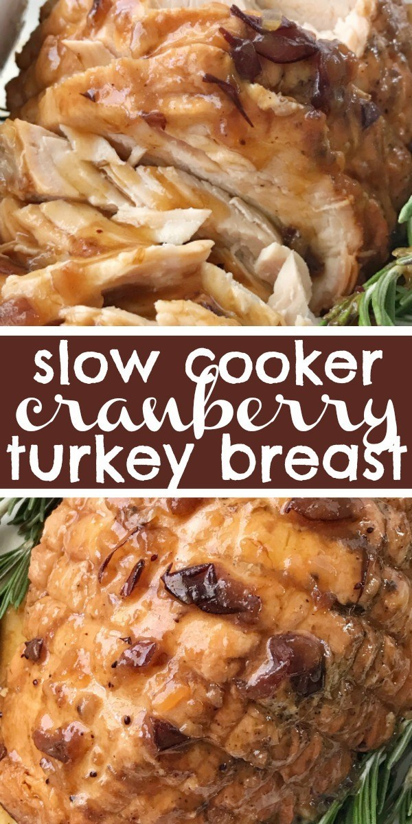 Crock Pot Cranberry Turkey Breast