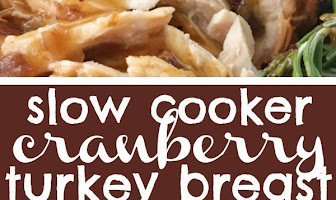 Crock Pot Cranberry Turkey Breast