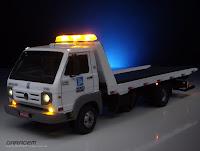 Miniatura Caminhão Guincho Porto Seguro VW 8-150 Delivery