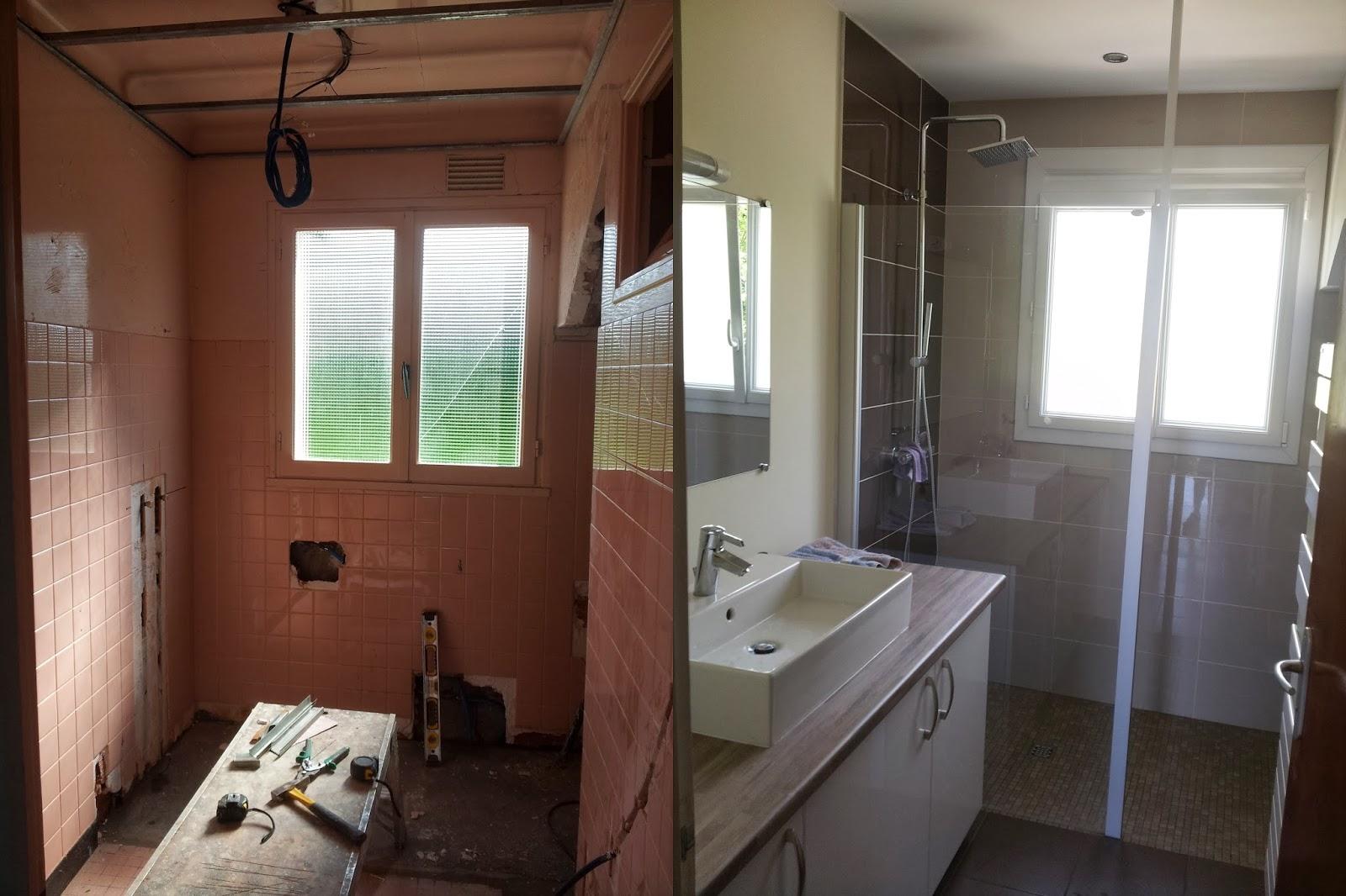Deco Salle De Bain Avant Apres michel le coz agencement & décoration: avant/après: salle d'eau