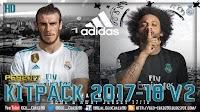[NEW] Kitpack Season 2017-18 V2 AIO + FIX - PES 2017