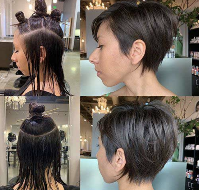 pixie haircuts 2019 for older women