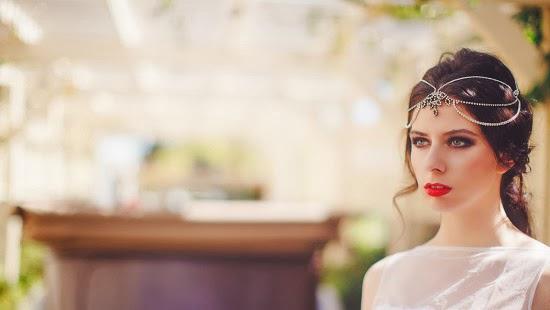 Acessórios vintage para noivas