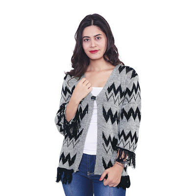 Sweater Rajut Wanita Catenzo ZM 110
