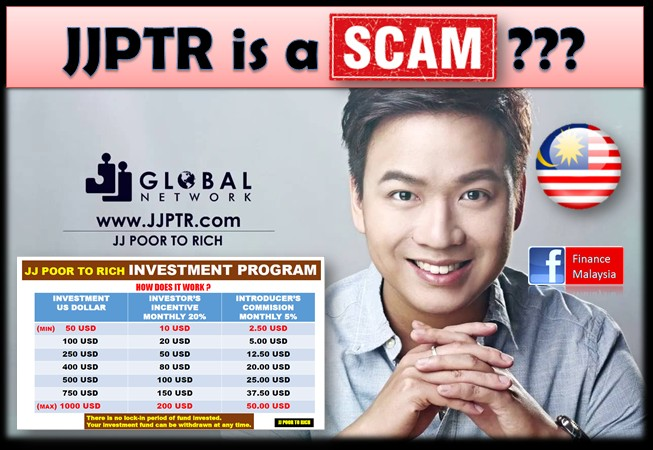Finance Malaysia Blogspot: JJPTR is a Scam??? (March 2017)