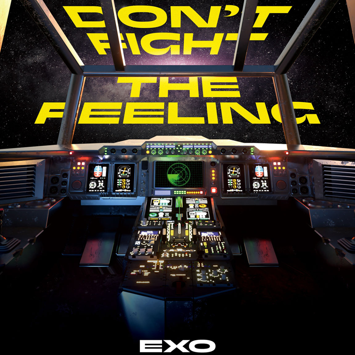 EXO : Don't Fight The Feeling MV + Don't Fight The Feeling Album Download