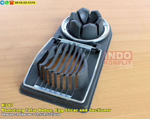 Pemotong Telur Rebus, Egg Slicer and Sectioner
