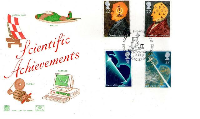 Michael Faraday Scientific Achievements FDC