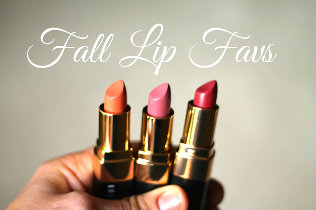 Fall lip favorites with Bobbi Brown lip trio