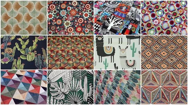 20 Σχέδια σε υφάσματα επίπλωσης για πολύ ξεχωριστές  Boho και  Ethnic διακοσμήσεις