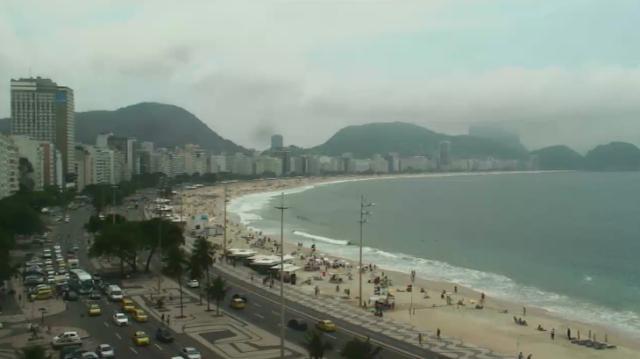 Copacabana ao vivo