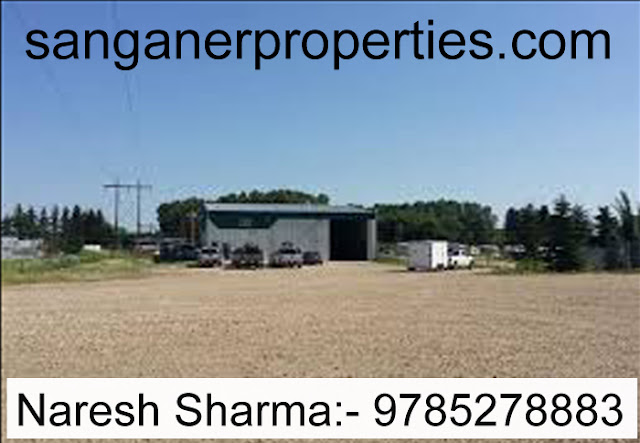 Commercial Plot For Sale in Sanganer