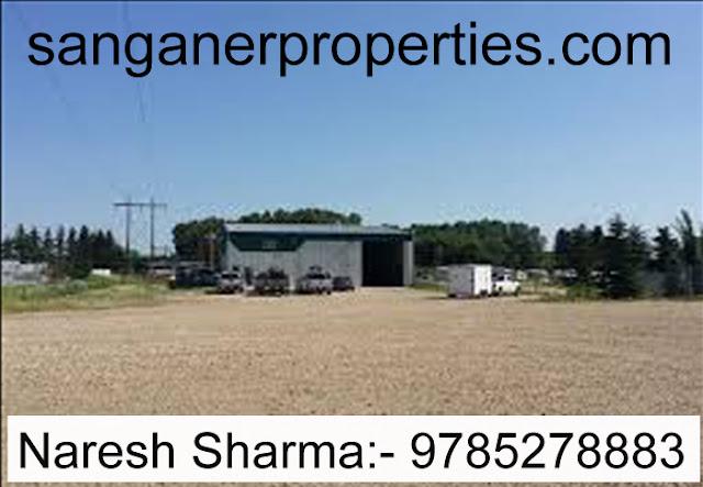 Commercial Plot For Sale in Sanganer