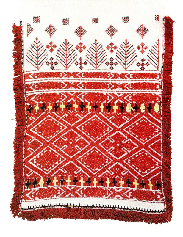 Traditional embroidery of Belarus
