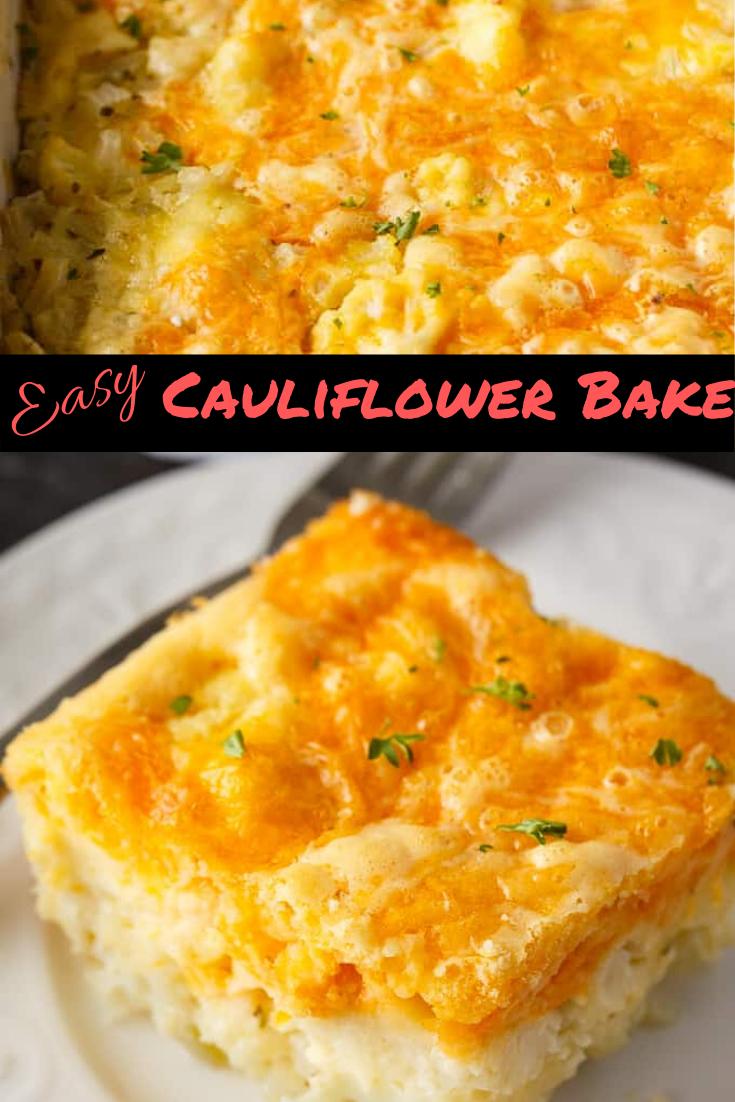 Easy Cauliflower Bake