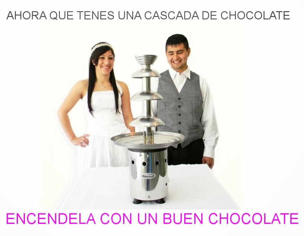 venta de chocolate para cascadas