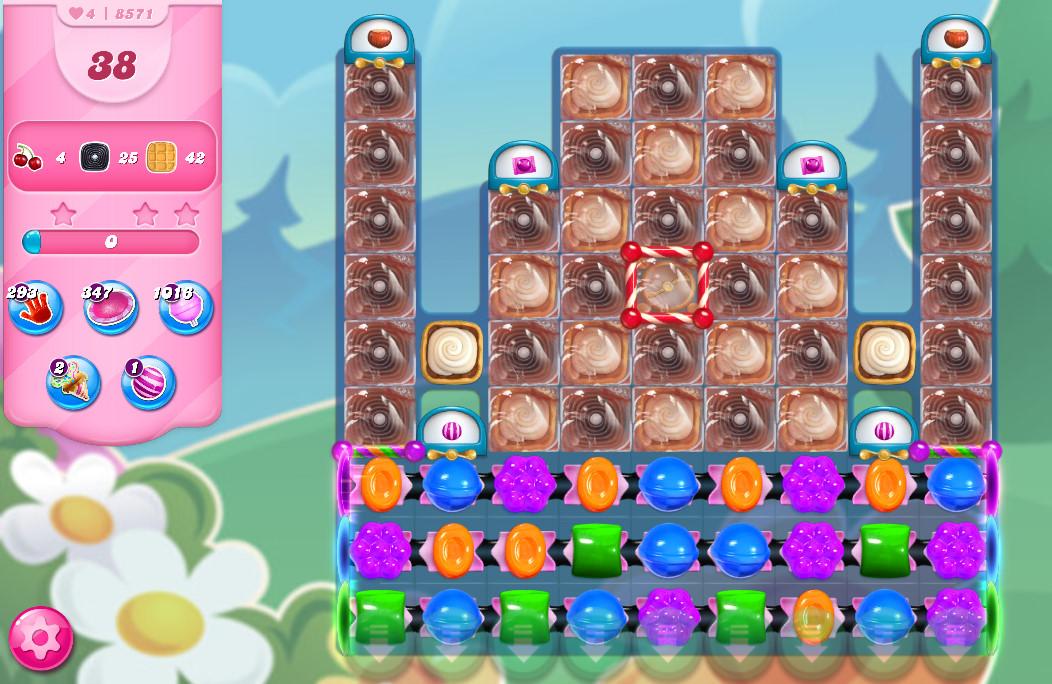 Candy Crush Saga level 857