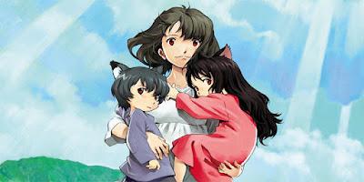 rekomendasi anime Ookami Kodomo no Ame to Yuki