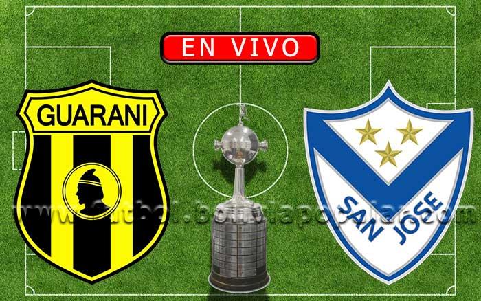 【En Vivo】Guaraní vs. San José - Copa Libertadores 2020
