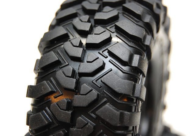 Traxxas TRX-4 tire tread