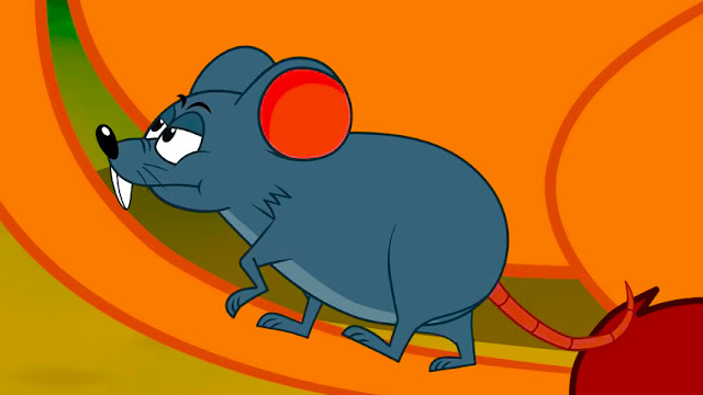 قصة الفأر الطماع