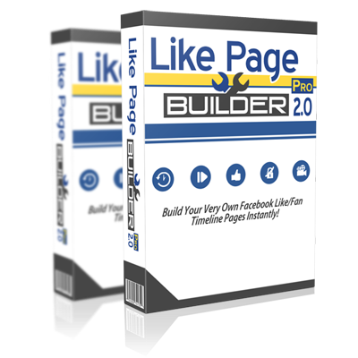 [VIP] Facebook Like Page Builder [PRO EDITION SOFTWARE]