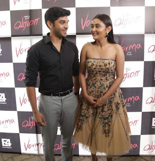 Kollywood Actress Megha Chowdhury Picture At Varma Movie Teaser Launch (4)
