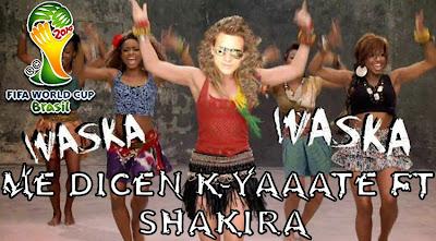 Mundial brasil 2014 cancion humor parodia waka waka shakira