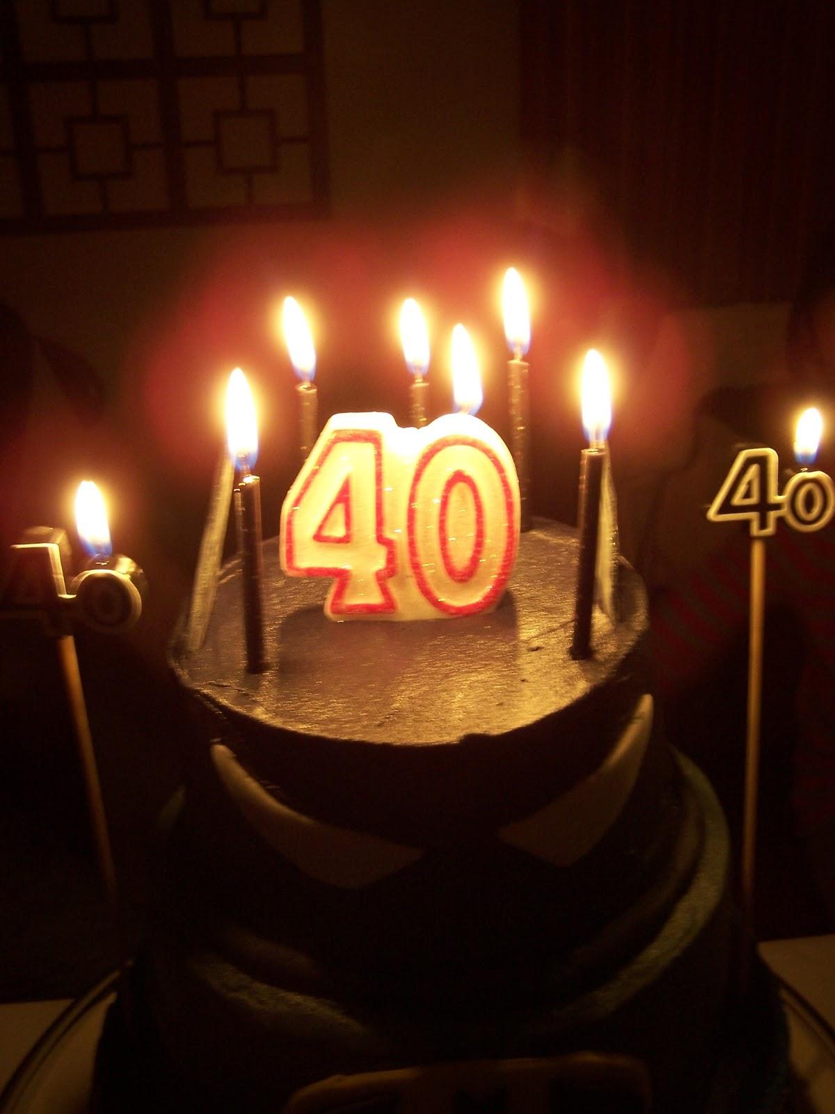 Heathers Recipes A 40th Birthday
