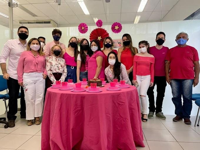 """OUTUBRO ROSA- Após vencer câncer de mama, elesbonense Tetê Loiola abraça campanha de prevenção à doença: """"gratidão me define"""""""