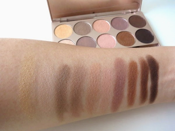 Lise Watier Rivages Summer 2015 Collection Palette Rivages Eyeshadow