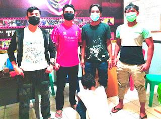 Pencuri Spesialis Rumah Kosong Di Toraja diamankan Batitong Maro