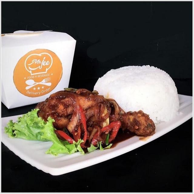 Ayam Mr Jee;10 Top Kuliner Blitar;