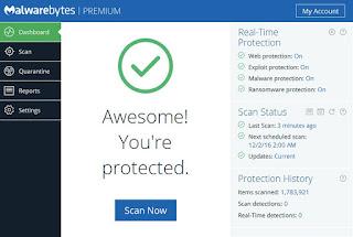 تحميل برنامج Malwarebytes 2017
