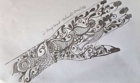 flower-leaf-motif-karvachauth-special