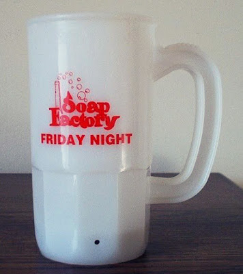 The Soap Factory beer mug