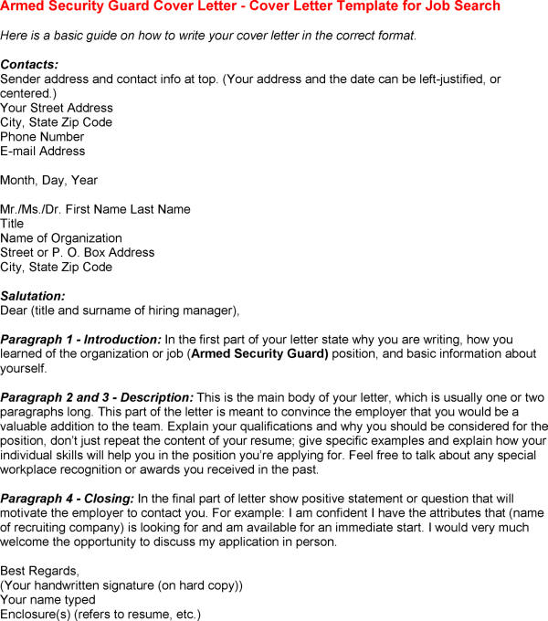 security guard resume sample  seangarrette cosecurity guard resume sample law enforcement cover letter